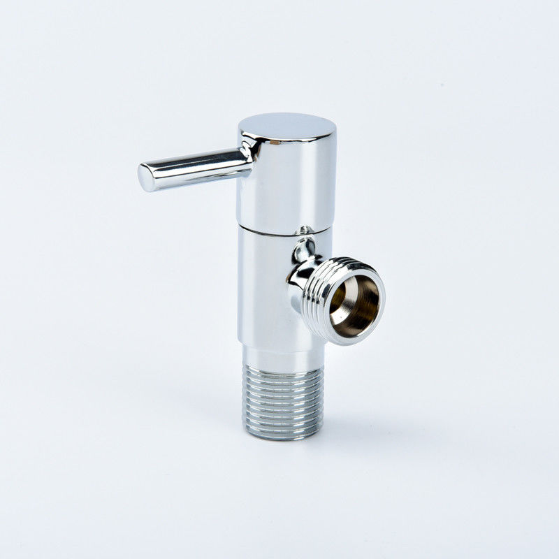 Kitchen Round Handle 135g 0.2Mpa Brass Angle Valve
